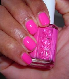 "essie ""exposure"" // perfect summer pink #nails"