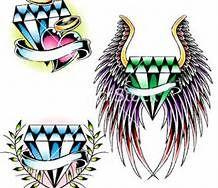 Dimonds Tattoo : Best Diamond Tattoo Designs - Bing Images - Buy Me Diamond Diamond Tattoo Designs, Diamond Tattoos, Ed Hardy Designs, Fine Point Pens, Dimonds, Designs To Draw, Drawing Designs, Tattoo Outline, Most Popular Tattoos