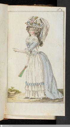 Journal des Luxus und der Moden: März, 1789.
