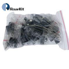 120pcs 12 value kit 1uF-470uF Electrolytic Capacitor Package for arduino 1UF 2.2UF 3.3UF 4.7UF 10UF 22UF 33UF 47UF 100UF 220UF