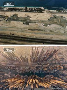 Ciudades del mundo, antes y ahora