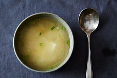 Miso Soup with dashi stock