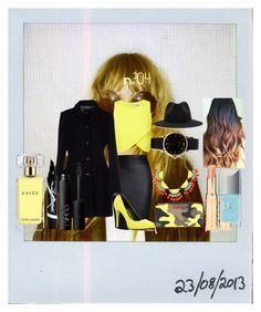 """Rentrée 2015-2016"" by marlinda212 ❤ liked on Polyvore featuring Polaroid, Miss Selfridge, ALDO, Azalea, Blu Bijoux, Marc by Marc Jacobs, MICHAEL Michael Kors, Christian Dior, Harmont & Blaine and NARS Cosmetics"