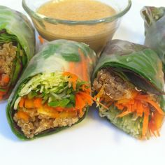 I've been making these Wicked Fresh Wraps for a while now and they've become somewhat of a phenomenon with my friends & family. When I saw that Kimberly Snyder challenged her readers to make th...