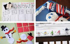 Snow/Winter themed activities for preschoolers - copyright-katherinemarie-20d2f
