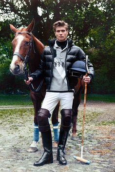 I don't even like horses, but there's something very attractive about the preppiness.