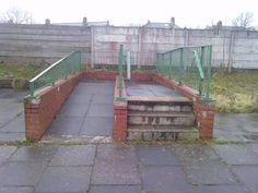 This extremely useful ramp. | The 31 Most Pointless Things Of All Time