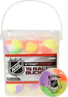 FRANKLIN NHL Street Hockey Balls - 15-Pack