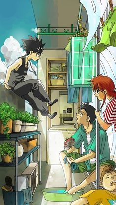 Image discovered by Chimæra. Find images and videos about and, pixiv and yu yu hakusho on We Heart It - the app to get lost in what you love. Manga Anime, Manga Bl, Old Anime, Fanarts Anime, Anime Guys, Anime Characters, Anime Art, Yu Yu Hakusho Hiei, The Big Theory
