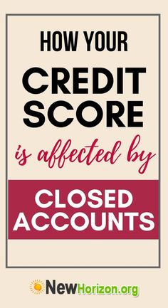 When a creditor decides to close a credit account, the most affected part of the credit score. Find out how closing your account affects your credit score. Boost Credit Score, How To Fix Credit, Free Credit Score, Ways To Build Credit, Credit Repair Companies, Card Companies, Best Travel Credit Cards, Credit Card Hacks, Rebuilding Credit