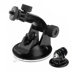 [$1.76] Suction Cup Mount + Tripod Adapter for GoPro Hero 4 / 3+ / 3 / 2 / 1 (ST-61)(Black)