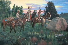 When Pelts were Prime by Richard Luce ~ Native American ~ trappers