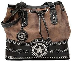i like this bucket style purse for western wear