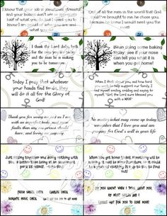 Encouraging Notes for Hubby's Lunch (Free Printables!)