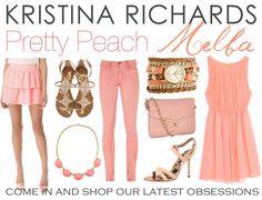 Pretty peach @Kristina Richards!