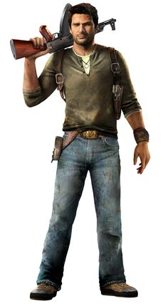 View an image titled 'Nathan Drake Art' in our PlayStation All-Stars Battle Royale art gallery featuring official character designs, concept art, and promo pictures. Nathan Drake, Video Game Art, Video Games, Cyberpunk, Drake Art, Uncharted Series, Geek Games, Game Character Design, Video Game Characters