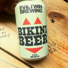 When your 4 year old calls you fat it's time to reach for Bikini Beer @eviltwinbrewing #beer #brew #instabeer #instabrew #craftbeer #craftbrew #beerporn #beerstagram #drinkcraft #untappd #ipa by chrisl2323
