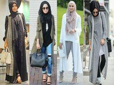 Fall stylish hijab street looks http://www.justtrendygirls.com/fall-stylish-hijab-street-looks/