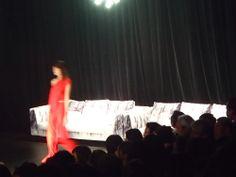 メルセデスベンツ選出の海外派遣デザイナーに起用された天津憂氏のファッションショーにてKairoプレデビュー