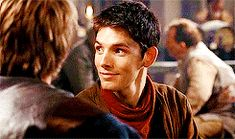 Haha! That confusing moment for Author when Merlin gets hit on and he doesn't.