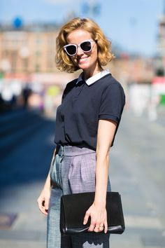 What the Most Stylish Women Wear 9 to 5: Cecilie Thorsmark of the Danish Fashion Institute