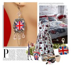 """England"" by smile-2528 ❤ liked on Polyvore featuring Nearly Natural and Chanel"