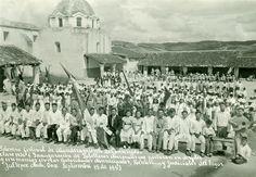 Solemne festival de abanderamiento de conscriptos clase 1936 e inauguración de Pabellones Nacionales, Jaltepec