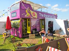 The Breakfast Club Festival Bus
