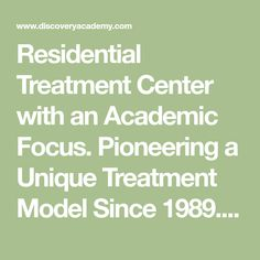 Residential Treatment Center with an Academic Focus. Pioneering a Unique Treatment Model Since 28 Years of Experience. Learning Disabilities, Learning Environments, Therapeutic Boarding Schools, Acute Stress, Troubled Teens, School Choice, School Admissions, Abuse Survivor, Stress Disorders
