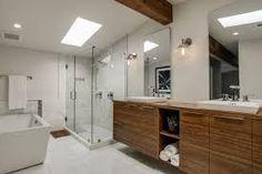 Mid-Century Bathroom Ideas |www.essentialhome.eu/blog | #midcentury #bathroom #homedecor