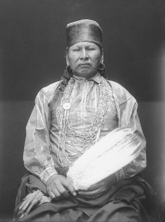 Generous, An American Indian of the Osage Nation 1913.
