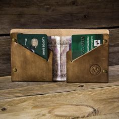 Leather Wallet Bifold Wallet Mens bifold wallet от ColvilleLeather
