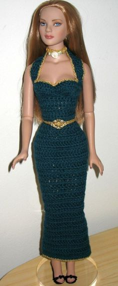 Tonner American Model Crochet pattern pack Basics by Livingwater