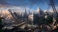 City Ruins Wallpaper Related Keywords & Suggestions - City Ruins ...