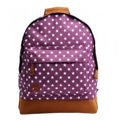 Mi-Pac All Stars Backpack Deep Purple
