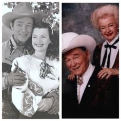 Roy Rogers and Dale Evans