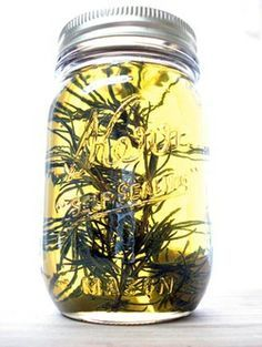 CANNABIS INFUSED olive oil. Rub it on yourself for pain!