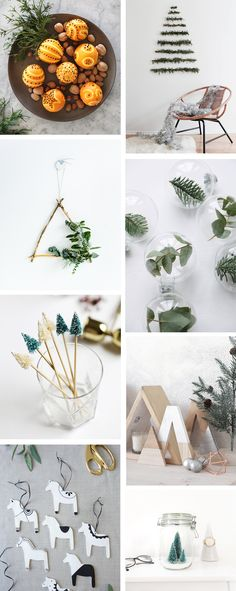 FRIDAY INSPIRATION: CHRISTMAS DIY DECOR IDEAS WITH A NORDIC LOOK // That Scandinavian Feeling blog