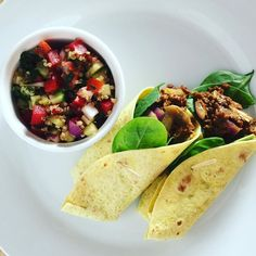Tabouleh and burritos - salad will go with any meal. Look out for this tabouleh recipe in the next few days.