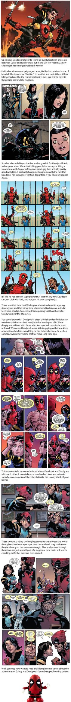 Deadpool and Wolverine's Granddaughter Are Marvel's Best New Duo