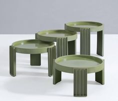 Gianfranco Frattini Nesting Tables for Cassina Design Furniture, Table Furniture, Outdoor Furniture, Antique Coffee Tables, Table Design, Business Furniture, Nesting Tables, Bathroom Furniture, Furniture Collection