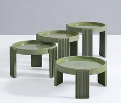 Gianfranco Frattini Nesting Tables for Cassina