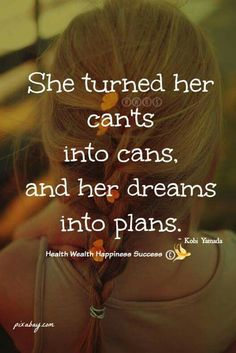 Plans....go for it