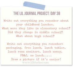 The Lil Journal Project Archives - Ashley Hackshaw / Lil Blue Boo Journal Writing Prompts, Art Prompts, Diy Journaling, Project Life Organization, High School Writing, Writing Therapy, Word Nerd, Personal History, Year 6