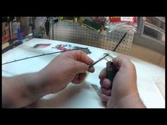 How to replace the tip on a fishing rod