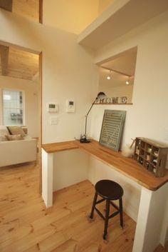 Study Space, Corner Desk, Spaces, House, Furniture, Ideas, Home Decor, Corner Table, Decoration Home