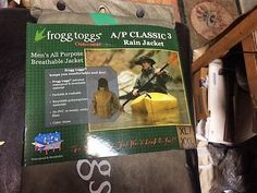 FROGG TOGGS JACKET OUTERWEAR AP CLASSIC 3  XL/XXL STONE NEW IN PACK #FROGGTOGGS