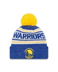 382ae0dba Golden State Warriors Adult NBA Toasty Cover Knit Beanie - Team Color