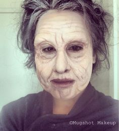 Creepy Old Age Makeup