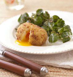 L�oeuf mollet frit de Cyril Lignac dans TopChef - �d�lices : Recettes de cuisine faciles et originales !